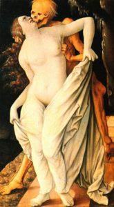 "Angst vor dem Tod - Hans Baldung Grien: ""Tod und Frau"" (1518–1520)"