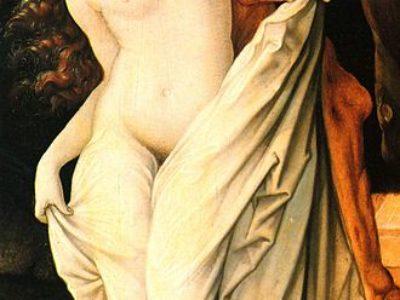 """Hans Baldung Grien: """"Tod und Frau"""" (1518–1520)"""