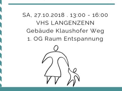 Workshop Mütter und Söhne am 27.10.2018 bei der VHS Langenzenn am 27.10.2018 | Dozent Roland Scherer